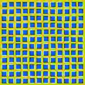 Ilusão de ótica: movimento - Reprodução