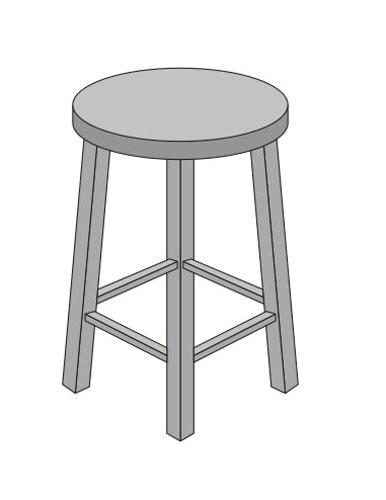 Ilusão de ótica: quantas pernas tem o banco?