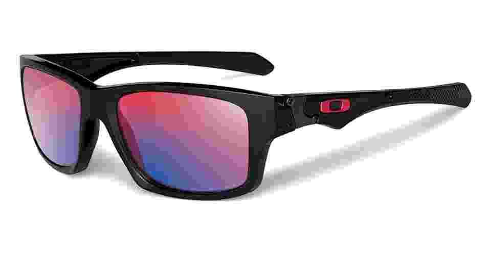Óculos de sol com lente polarizada; R$ 600 (preço sugerido), da Oakley (SAC 4003-7822). Preço pesquisado em janeiro de 2013 e sujeito a alteração - Divulgação