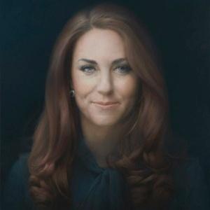 Primeiro retrato oficial de Kate Middleton foi pintado pelo artista Paul Emsley - Reprodução/© National Portrait Gallery