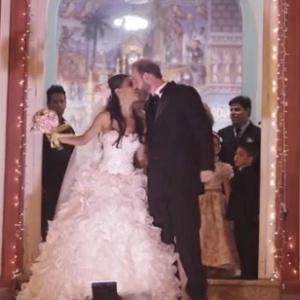 Vídeo de casamento transforma história de amor em comédia romântica