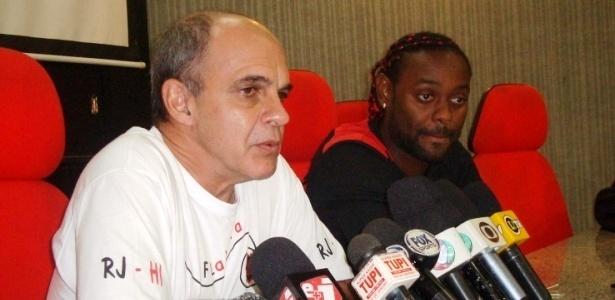 Flamengo sofreu em 2013: novo presidente deixou Vagner Love sair por dívida antiga