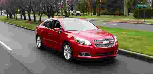 Chevrolet Malibu 2013 testado nos EUA: visual é arrojado, mas rodar ainda é pacífico - André Deliberato/UOL