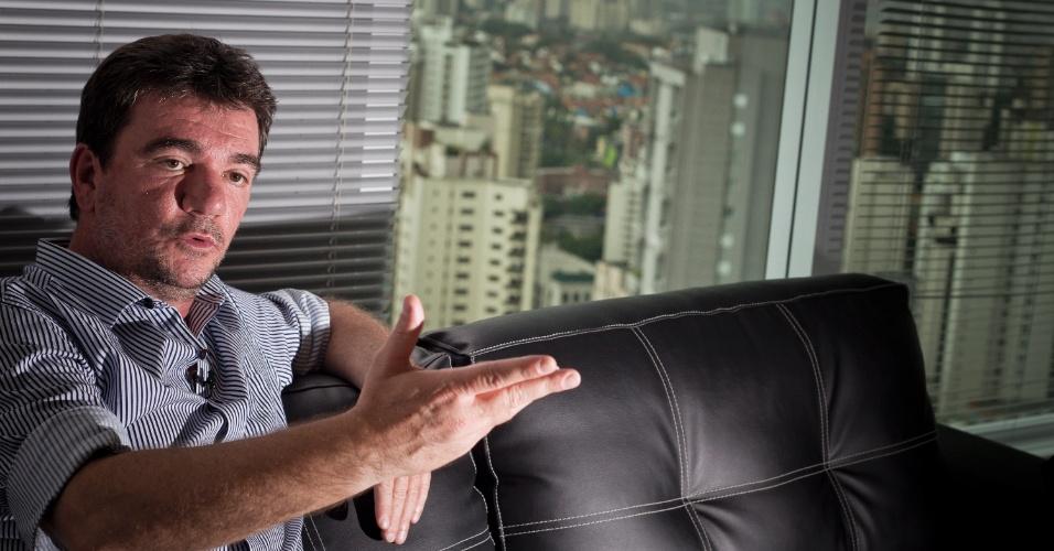 14jan2013 - Andrés Sanchez, ex-presidente do Corinthians
