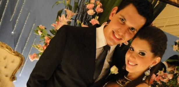 Andressa e o ex-namorado, Jean Nunes