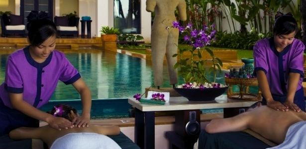 Construído há quase 20 anos, o Banyan Tree Spa Phuket foi o primeiro spa da Tailândia - Divulgação