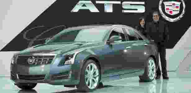 Cadillac ATS, carro do ano nos Estados Unidos, é cotado pela GM para chegar ao Brasil - John F. Martin/EFE