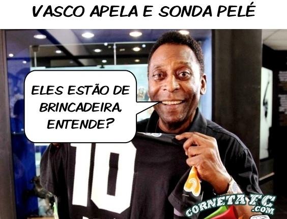 Corneta FC: Depois de sonhar com Pedrinho, Vasco apela e sonda Pelé