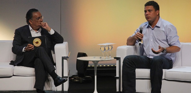 O projeto tem como embaixador Ronaldo Fenômeno, que compareceu ao evento - Nelson Antoine/Fotoarena/Estadão Conteúdo