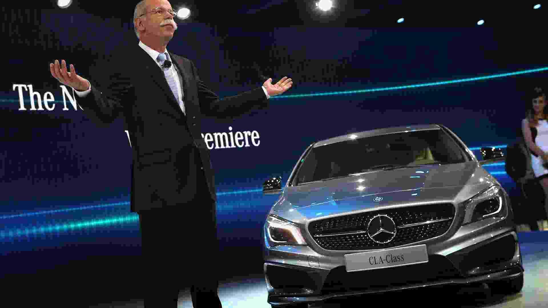 Mercedes-Benz CLA - Scott Olson/AFP