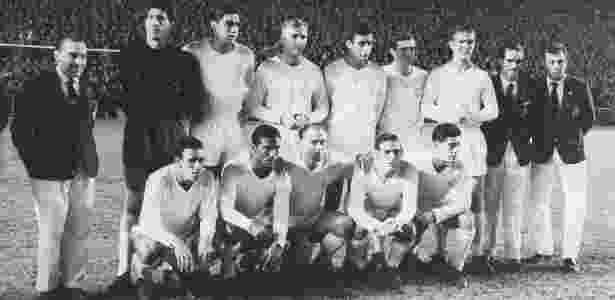 Mítico time do Real Madrid, de Puskas e Di Stefano, pentacampeão da Liga dos Campeões - Arquivo pessoal - Arquivo pessoal