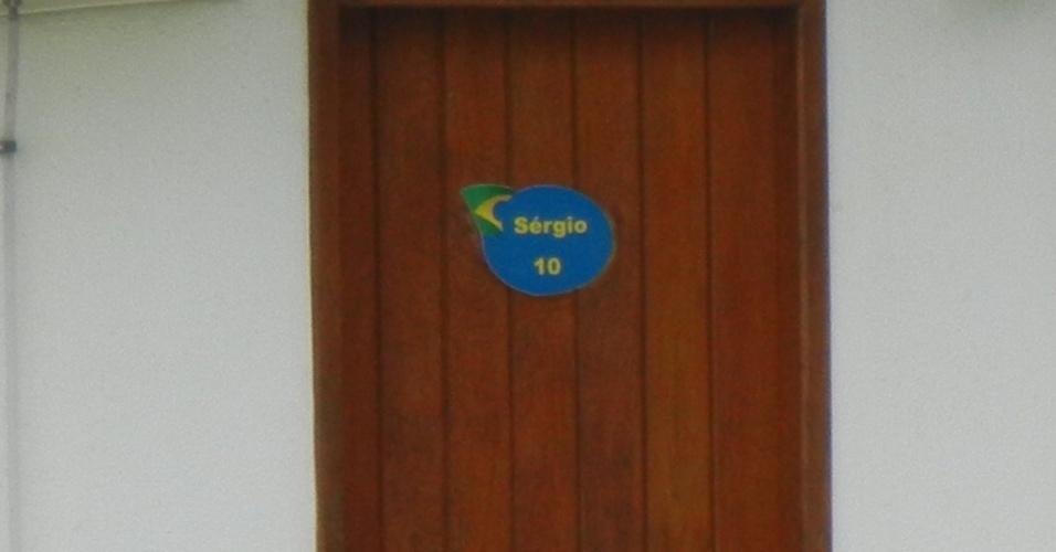 Seedorf ficou no quarto número 10, utilizado pelo ex-líbero da seleção de vôlei, Serginho