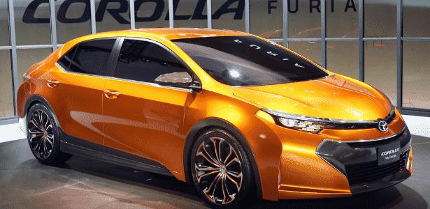 Toyota Corolla Furia Concept surge no Salão de Detroit: e agora, Honda Civic? - Scott Olson/AFP