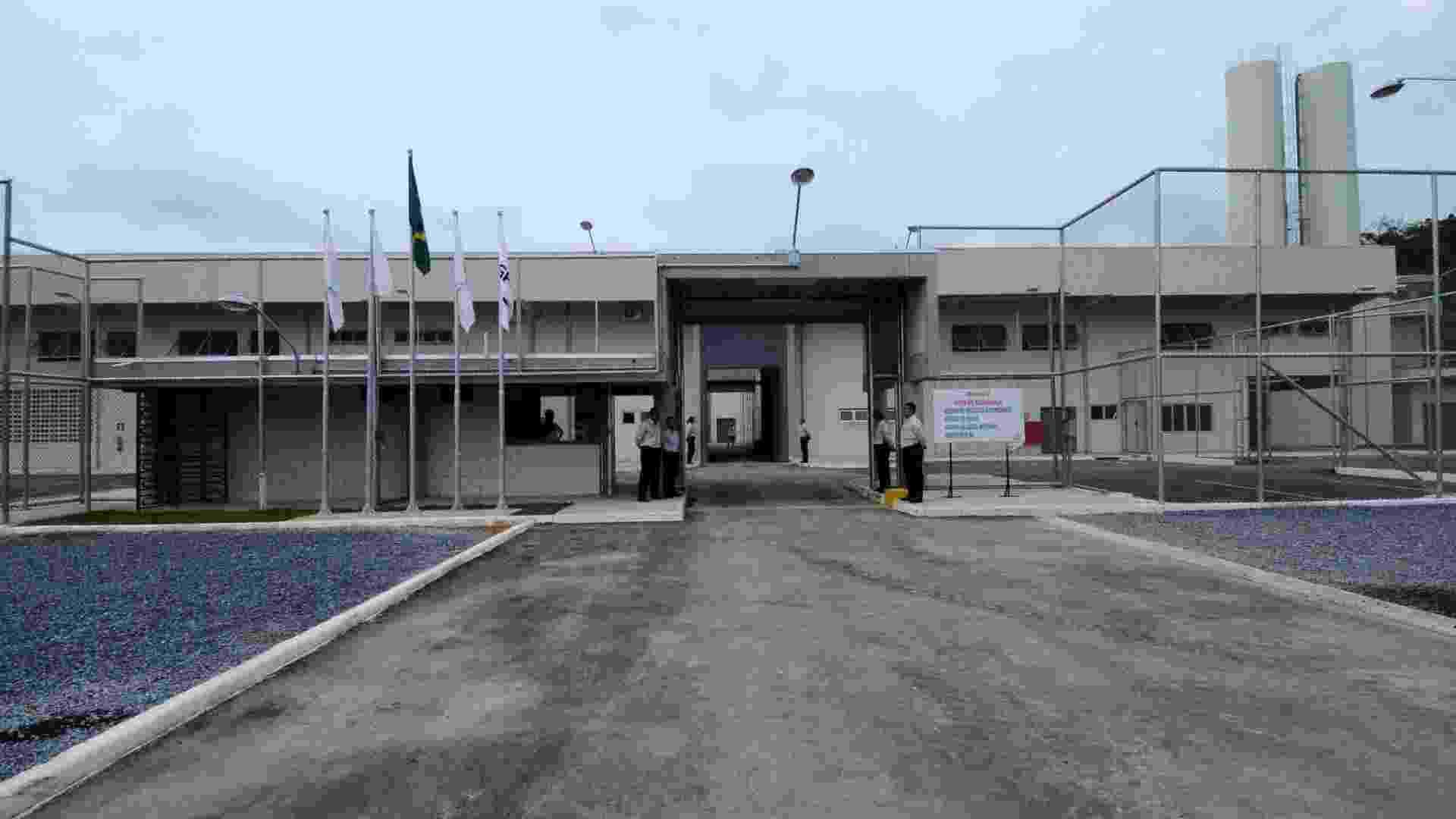 15.jan.2013 -  Complexo penitenciário em Ribeirão das Neves, na região metropolitana de Belo Horizonte,  o primeiro presídio privado do país - Carlos Alberto Secom/MG