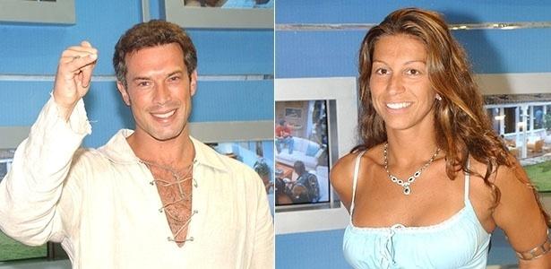 "Paulo Carotini e Samantha Pereira deixaram o ""BBB3"" juntos"
