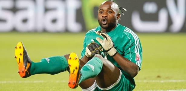 O Mazembe do goleiro Kidiaba venceu o Inter na semifinal do Mundial de Clubes de 2010