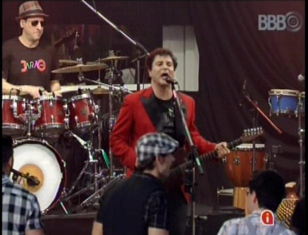 16.jan.2013 - As músicas Bete Balanço e Puro Êxtase se foram tocadas para os brothers