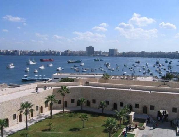 À beira do Mediterrâneo, Alexandria era um dos principais portos e centros culturais do início do século 20