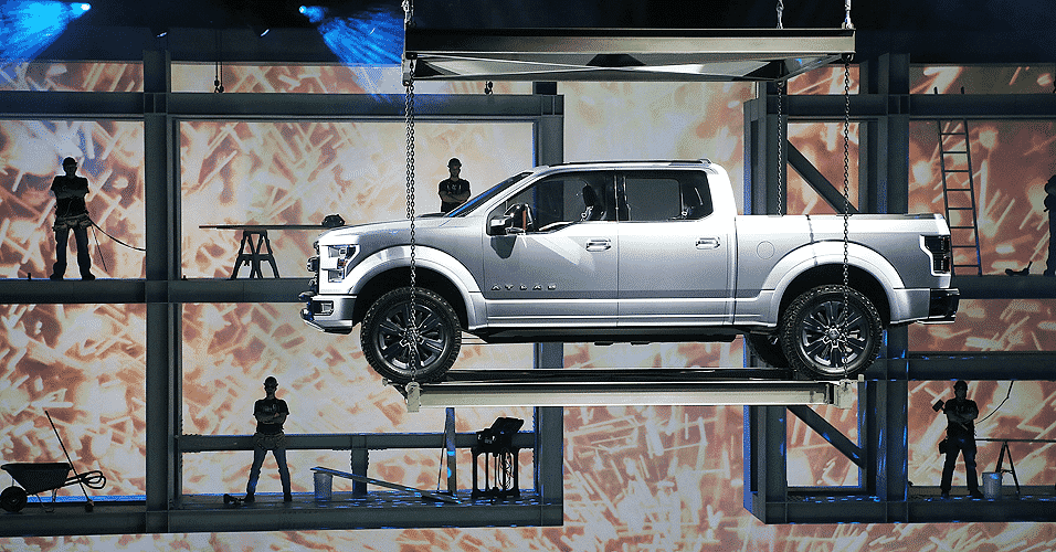Ford Atlas Concept - Scott Olson/AFP