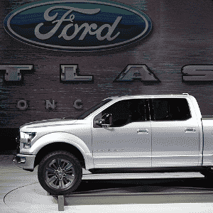 Ford Atlas Concept - Geoff Robins/AFP