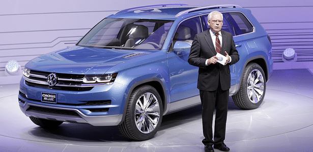 Volkswagen apresenta SUV de seis lugares que deve chegar aos EUA em até dois anos - Carlos Osorio/AP