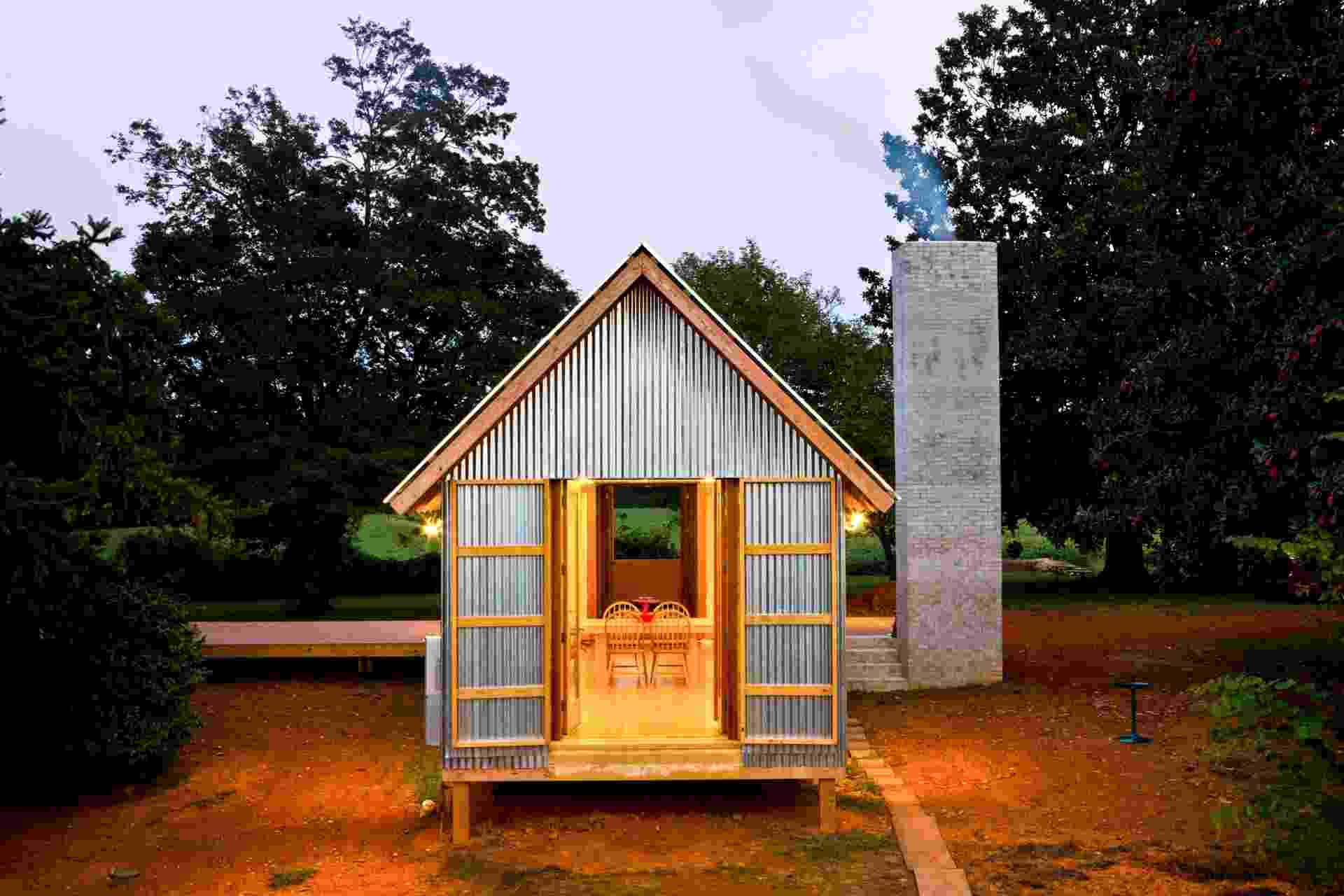 Zachary House, na Carolina do Norte, projetada pelo arquiteto Stephen Atkinson (imagem do NYT, usar apenas no respectivo material) - Sara Essex Bradley/The New York Times