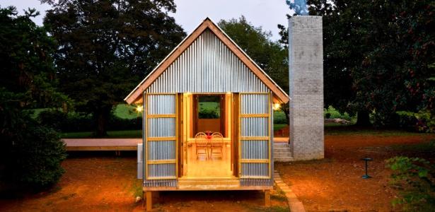 Versão mais recente da Zachary House, na Carolina do Norte, projetada pelo arquiteto Stephen Atkinson - Sara Essex Bradley/The New York Times