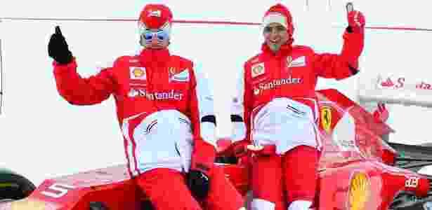 Massa espera brigar de igual para igual com Alonso pelo título do Mundial de pilotos - AFP PHOTO/GIUSEPPE CACACE
