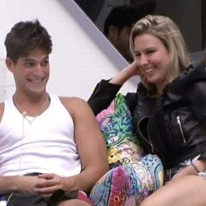 Fernanda e André decidiram ser amigos