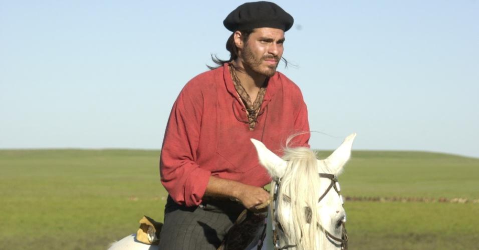 (2003) Thiago Lacerda viveu novamente um italiano, o general Giuseppe Garibald, no drama histórico