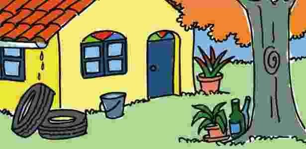 Medidas simples, como não deixar água parada em vasos de plantas e pneus, evitam a procriação do mosquito - Thinkstock
