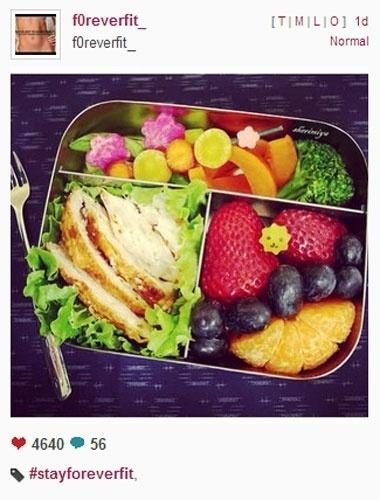 Com pratos saudáveis e boa forma, usuários do Instagram criam Vigilantes do Peso virtual