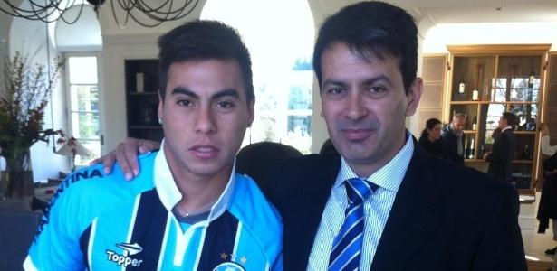 Reprodução/Twitter oficial do Grêmio @gremiooficial