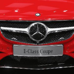 Mercedes-Benz Classe E Coupé - Scott Olson/AFP