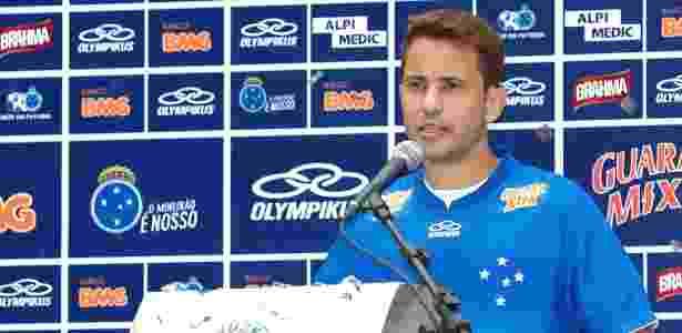 Everton Ribeiro admite atuar de atacante, mas prefere jogar como meia no Cruzeiro - Washington Alves/Vipcomm