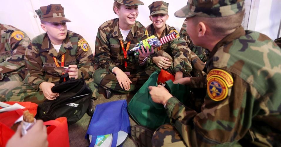 Soldados americanos se preparam para segunda posse do presidente Barack Obama, que acontece no dia 21 de janeiroi