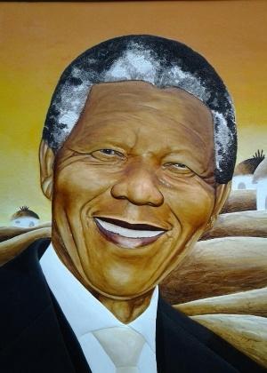 Nelson Mandela, por Sifiso Ngcobo - Reprodução/CityPress