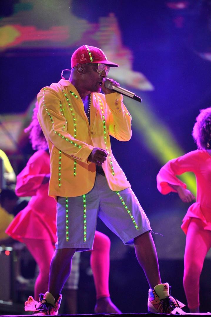 Psirico se apresenta no Festival de Verão de Salvador, em janeiro de 2013