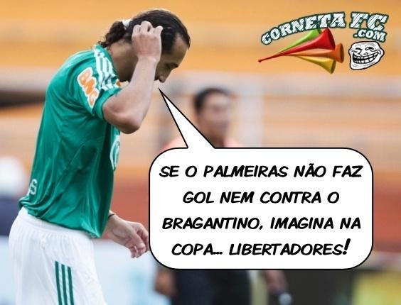 Corneta FC: Após passar em branco no Paulista, Barcos já mostra preocupação com Libertadores