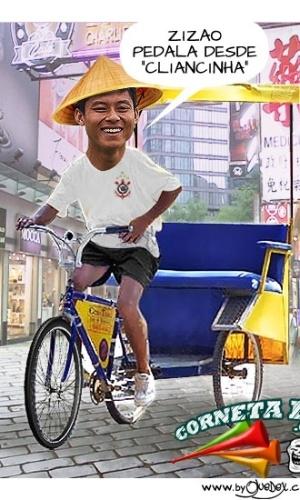 Corneta FC: Zizao revela de onde vem a facilidade para pedalar