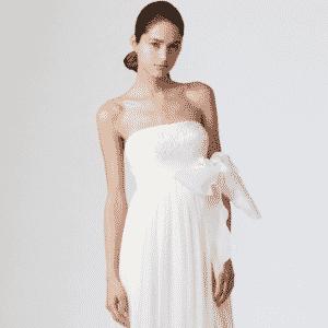Imagem com opção de segundo vestido de noiva - Whitehall - Divulgação/Whitehall