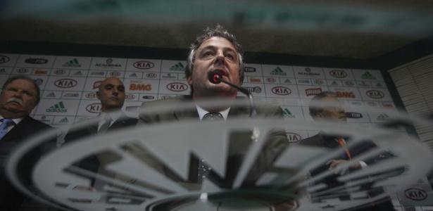 Eleito presidente do Palmeiras, Paulo Nobre mandou um recado aos torcedores