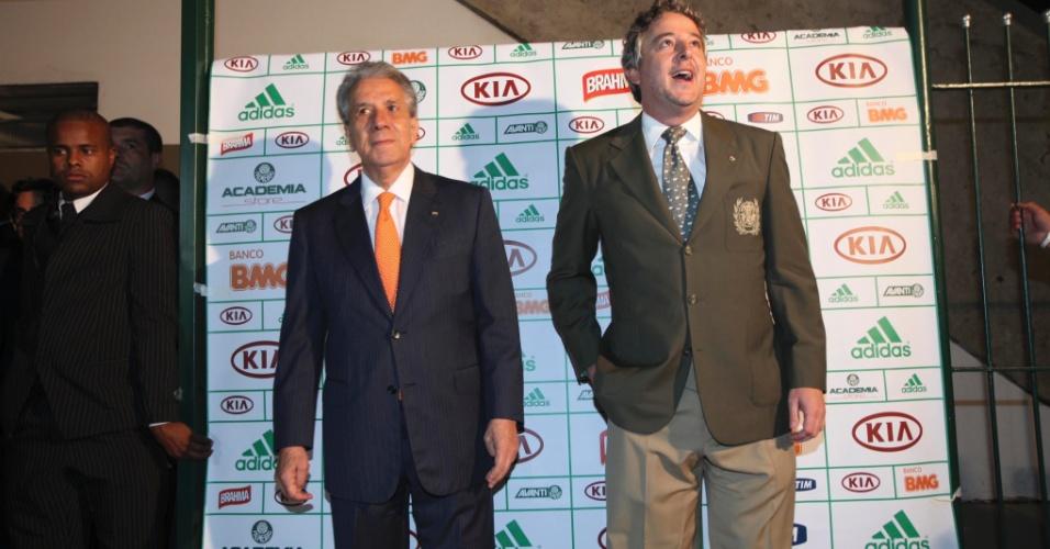 21.jan.2013 - Os conselheiros do Palmeiras elegeram na noite desta segunda-feira Paulo Nobre como novo presidente do clube