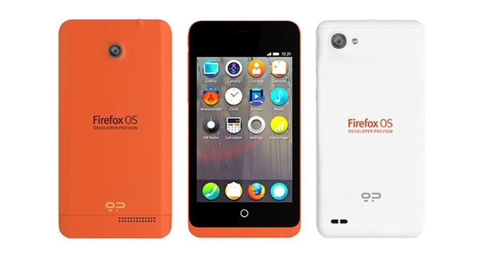 22.jan.2013 - A Fundação Mozilla anunciou o lançamento dos Firefox OS Developer Preview Phones, smartphones com uma prévia do sistema operacional Firefox. Os aparelhos foram criados para que desenvolvedores possam ter acesso ao sistema, experimentar e criar aplicativos. Ainda não há informações sobre o preço, ou data de lançamento dos smartphones