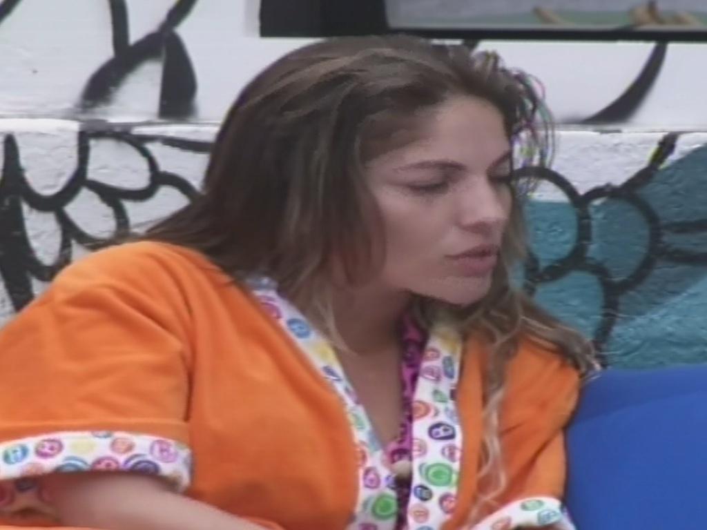 22.jan.2013 - Anamara conta a Ivan que entrou no