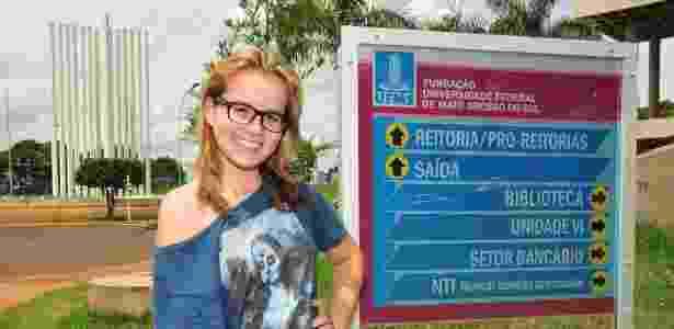Aos 14 anos, Nathaly Gomes Tenório é a mais jovem estudante da UFMS - Gerson Oliveira/Correio do Estado