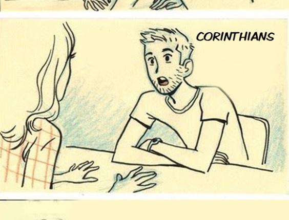 Corneta FC: Como estragar um encontro com apenas uma frase