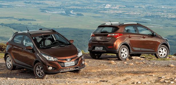 Hyundai HB20X posa nas alturas: estilinho sai caro nesse aventureiro, que quer brigar com CrossFox - Divulgação