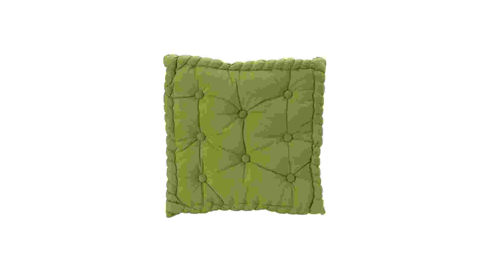 Sentar próximo ao chão pode ser muito mais refrescante e os futons existem justamente para isso. Esse modelo de 38 cm x 38 cm é produzido em algodão em   diferentes cores e pode ser adquirido na Etna (www.etna.com.br) por R$ 49,99. Preços pesquisados em janeiro de 2013 e sujeitos a alterações - Divulgação