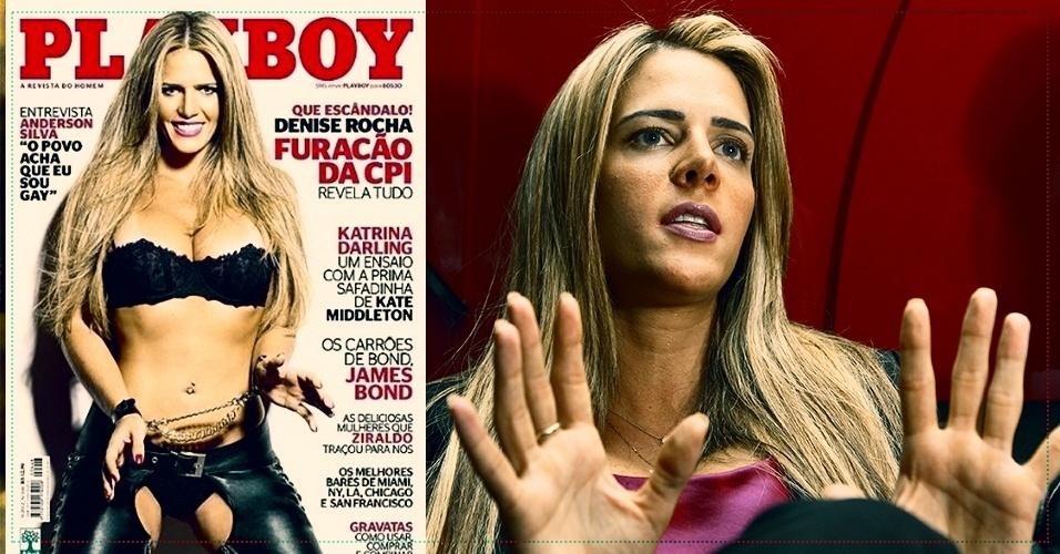 Denise Rocha, ex-assessora do senador Ciro Nogueira, que foi exonerada após um vídeo em que aparece fazendo sexo cair na internet